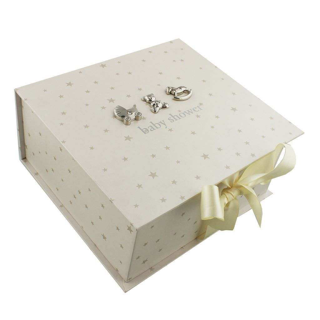 Baby Gift Keepsake Box : Baby shower keepsake memory box gifts