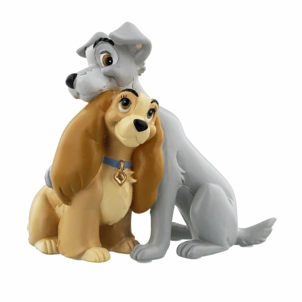 Disney Magical Moments Figurine Lady and the Tramp Collectable ...