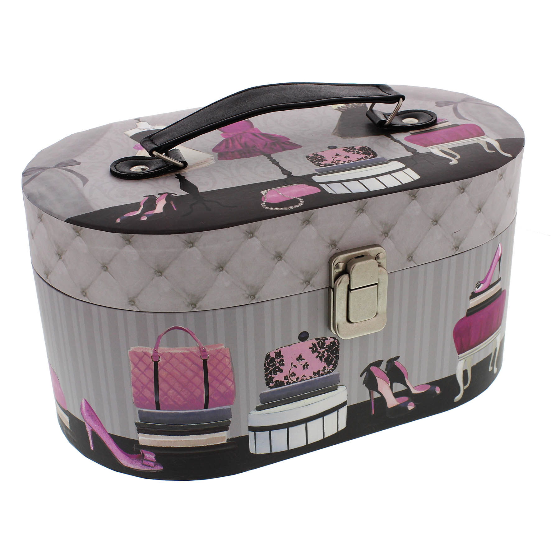 Oval Jewellery Case Tri