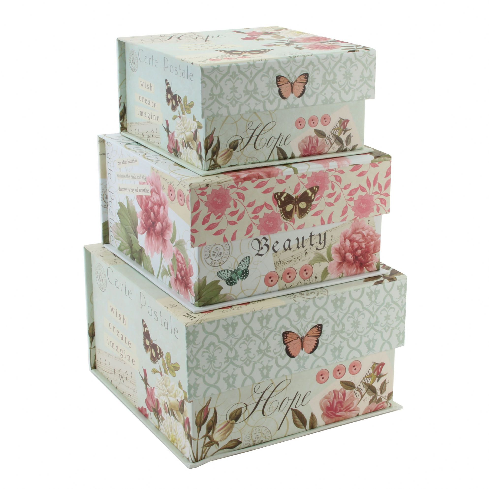 Decorative Boxes Uk: Pretty Storage Boxes. StorageWorks 40 L,Canvas Storage Box