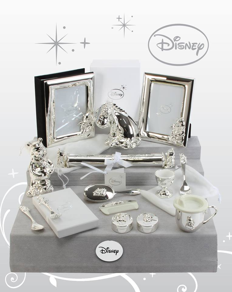 Silver Plated Baby Gifts Australia : Winnie the pooh silver plated gifts for new baby