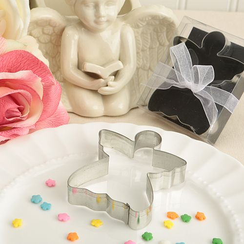 Angel Shape Metal Cookie Cutter Table Gift Favor