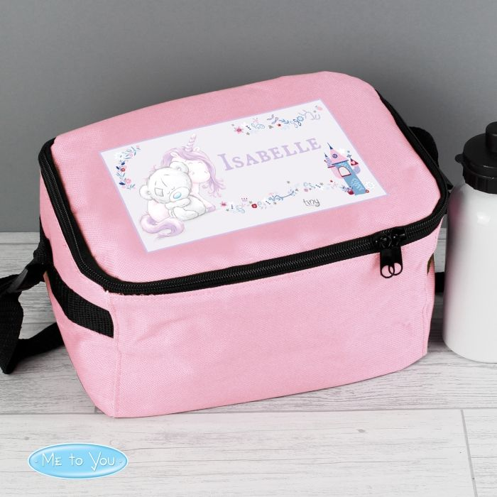Back To School Personalised Tatty Teddy Unicorn Lunch Bag For Girls