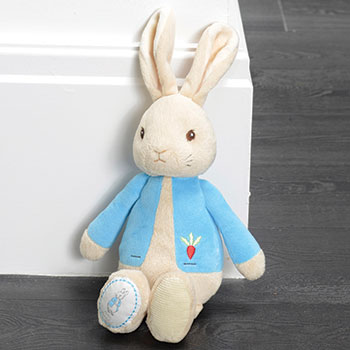 My First Peter Rabbit Plush Soft Toy For Baby - Suitable From Birth Beatrix Potter Licensed Gift