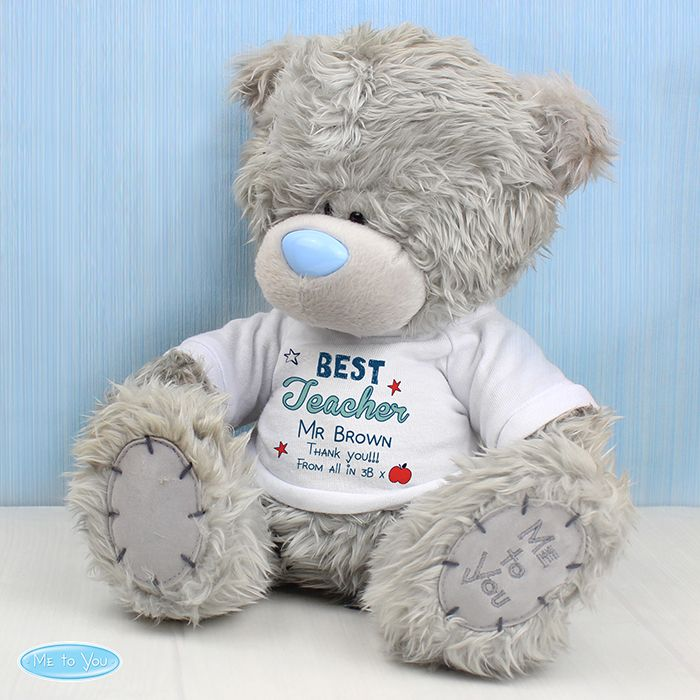 Personalised Me to You Teddy Bear Teacher Gift Any Message